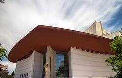 Roemeens Nationaal Theater in Boekarest (TNB) stock afbeelding
