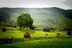 Roemeens platteland Royalty-vrije Stock Fotografie