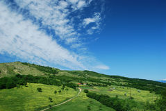 Roemeens plattelandslandschap Royalty-vrije Stock Foto's