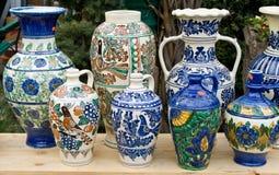 Roemeens traditioneel aardewerk Royalty-vrije Stock Foto