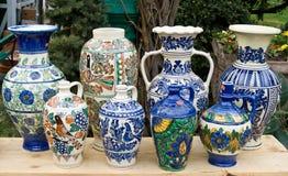 Roemeens traditioneel aardewerk Stock Fotografie