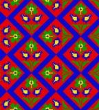 Roemeens traditioneel naadloos patroon Stock Foto