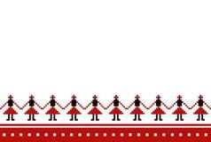 Roemeens traditioneel patroon Stock Afbeelding