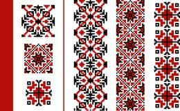 Roemeens traditioneel patroon Royalty-vrije Stock Afbeelding