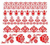 Roemeens traditioneel thema stock illustratie