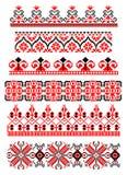 Roemeens traditioneel thema vector illustratie