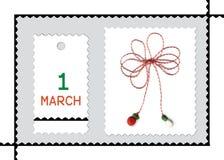 Roemeense de lentevakantie van Martisor- Royalty-vrije Stock Fotografie