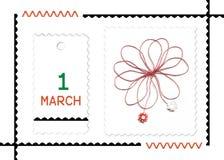 Roemeense de lentevakantie van Martisor- Royalty-vrije Stock Foto's