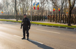 Roemeense Gendarme Royalty-vrije Stock Foto's