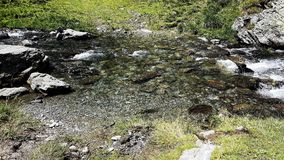 Roemeense kleine rivier Royalty-vrije Stock Foto's