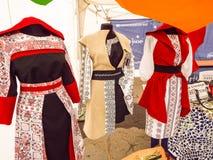 Roemeense kostuums Stock Foto
