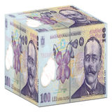 Roemeense munt Royalty-vrije Stock Foto's
