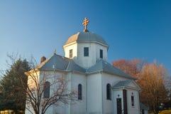 Roemeense Orthodoxe Kerk in Zuiden Saint Paul stock afbeelding