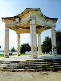 Roemeense oude tempel Stock Afbeeldingen