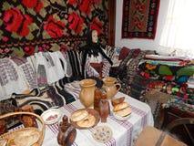 Roemeense oude traditie stock afbeelding