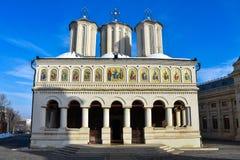 Roemeense Patriarchale Kathedraal Catedrala Patriarhala DIN Bucuresti Stock Afbeeldingen