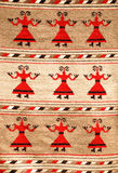 Roemeense traditionele deken stock foto's