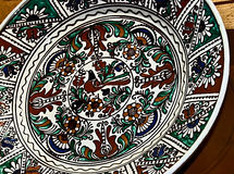 Roemeense traditionele keramiek 17 Stock Afbeelding