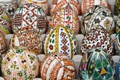 Roemeense traditionele paaseieren Royalty-vrije Stock Foto