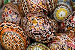 Roemeense traditionele paaseieren Royalty-vrije Stock Afbeelding