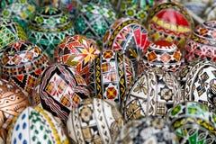 Roemeense traditionele paaseieren Royalty-vrije Stock Fotografie