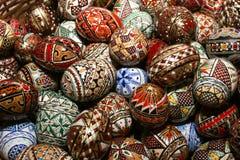 Roemeense traditionele paaseieren Stock Foto