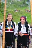 Roemeense Tulnic-Spelers royalty-vrije stock afbeelding