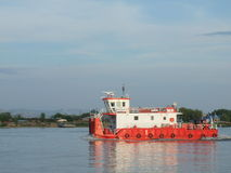 Roemeense veerboot Stock Foto