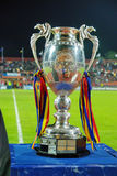 Roemeense voetbalkop Royalty-vrije Stock Foto's