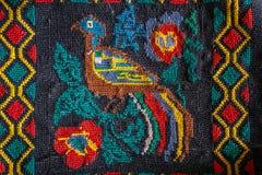 Roemeense volks naadloze patroonornamenten Royalty-vrije Stock Afbeeldingen