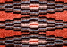 Roemeense volks naadloze patroonornamenten Roemeens traditioneel borduurwerk Etnisch textuurontwerp Traditioneel tapijtontwerp Ca royalty-vrije stock foto
