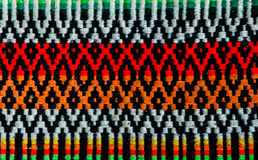 Roemeense volks naadloze patroonornamenten Roemeens traditioneel borduurwerk Etnisch textuurontwerp Traditioneel tapijtontwerp stock foto
