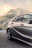 Roemenië, Brasov-16 Sept., 2014: Mercedes-Benz A 45 2014 AMG Stock Afbeeldingen
