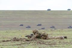 Roemenië-NAVO-leger-OEFENING Royalty-vrije Stock Foto's