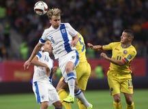 Roemenië versus Finland Royalty-vrije Stock Fotografie