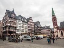 Roemerberg, conduttura di Francoforte Immagini Stock Libere da Diritti