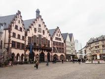 Roemerberg, Frankfurt magistrala zdjęcie stock