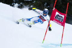 ROENNGREN Mattias in Audi Fis Alpine Skiing World Cup Men's Gi Stock Image