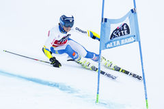 ROENNGREN Mattias in Audi Fis Alpine Skiing World Cup Men's Gi Stock Images