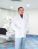 Roentgenologist - man, in his office Royalty Free Stock Image