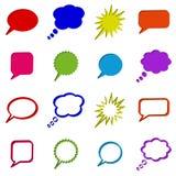 Roep of spreek knopen uit Stock Fotografie