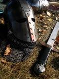 Roer en zwaard royalty-vrije stock foto's