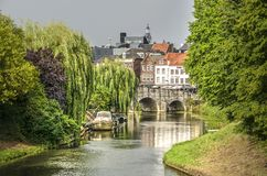 Free Roermond And The River Roer Royalty Free Stock Image - 153862966