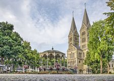 Free Roermond Church And Bandstand Royalty Free Stock Photos - 153118168