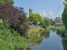 Roermond, Limburg, die Niederlande Stockfoto
