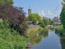 Roermond Limburg, Nederländerna Arkivfoto
