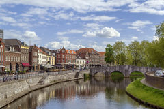 Roermond Nederländerna Royaltyfri Bild