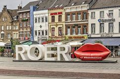 Free Roermond Welcome Sign Royalty Free Stock Images - 153117829