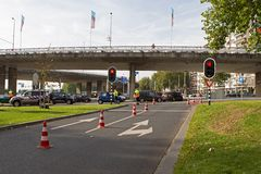 Roermondsplein in Arnhem Royalty Free Stock Photos