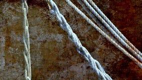 Roest en kabels Stock Afbeelding